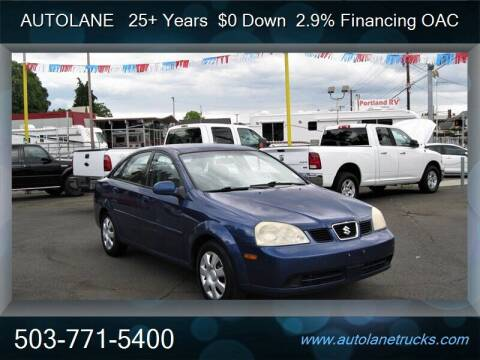 2004 Suzuki Forenza for sale at Auto Lane in Portland OR