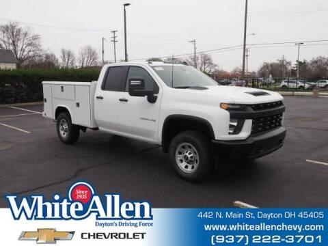 2021 Chevrolet Silverado 3500HD for sale at WHITE-ALLEN CHEVROLET in Dayton OH