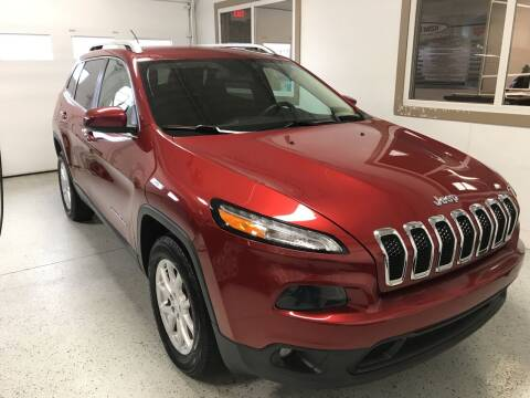 2015 Jeep Cherokee for sale at Carney Auto Sales in Austin MN