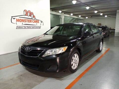 2011 Toyota Camry for sale at Monster Cars in Pompano Beach FL