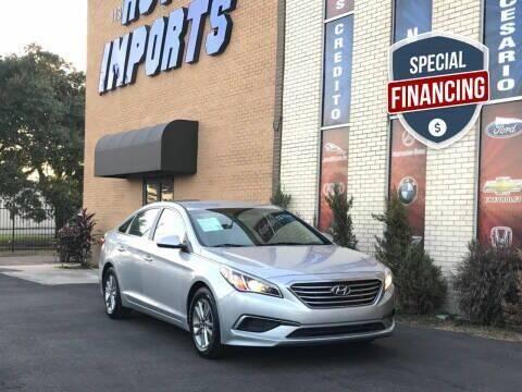 2016 Hyundai Sonata for sale at Auto Imports in Houston TX