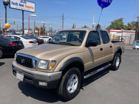 2003 Toyota Tacoma for sale at Pacific West Imports in Los Angeles CA