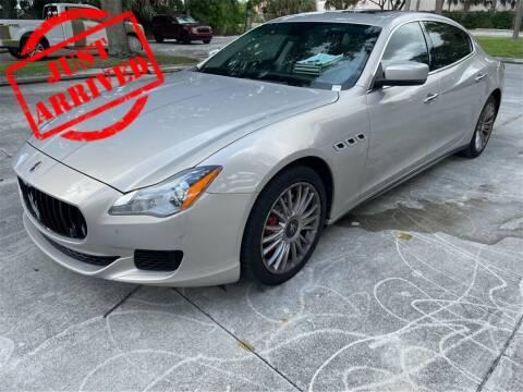 2014 Maserati Quattroporte for sale at Florida Fine Cars - West Palm Beach in West Palm Beach FL