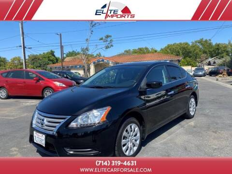 2015 Nissan Sentra for sale at MIKE AHWAZI in Santa Ana CA