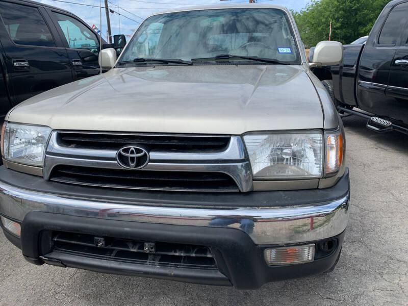 2001 Toyota 4Runner for sale at BULLSEYE MOTORS INC in New Braunfels TX