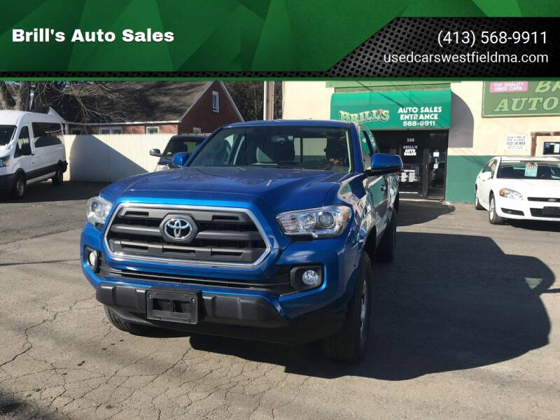 2016 Toyota Tacoma for sale at Brill's Auto Sales in Westfield MA