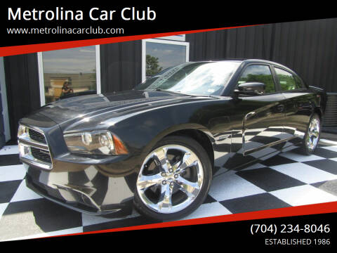 2012 Dodge Charger for sale at Metrolina Car Club in Matthews NC