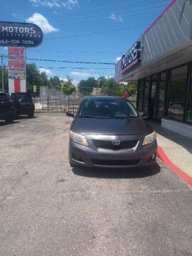 2009 Toyota Corolla for sale at i3Motors in Baltimore MD