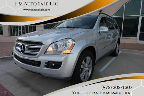 2009 Mercedes-Benz GL-Class for sale at F.M Auto Sale LLC in Dallas TX