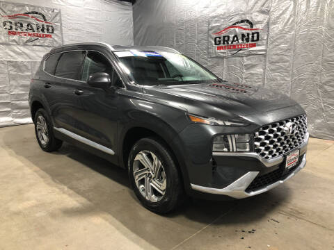 2021 Hyundai Santa Fe for sale at GRAND AUTO SALES in Grand Island NE