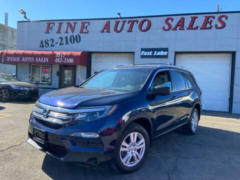 2016 Honda Pilot for sale at Fine Auto Sales in Cudahy WI