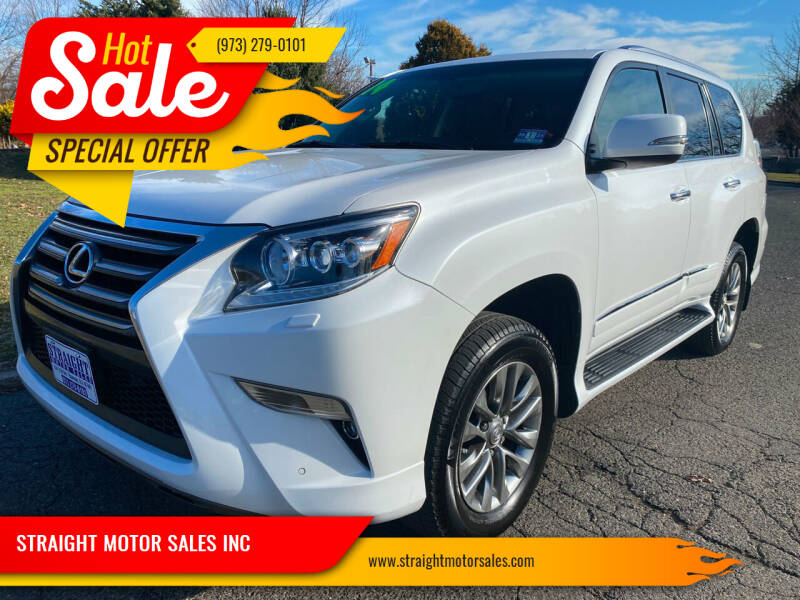 2014 Lexus GX 460 for sale at STRAIGHT MOTOR SALES INC in Paterson NJ