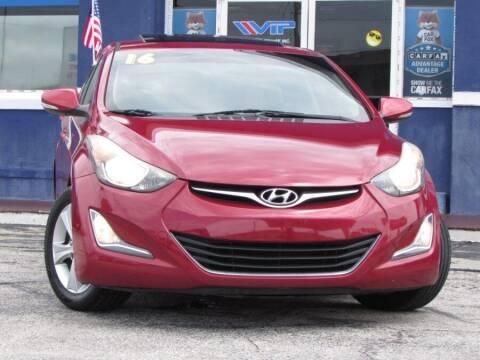 2016 Hyundai Elantra for sale at VIP AUTO ENTERPRISE INC. in Orlando FL