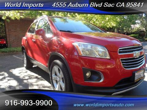 2015 Chevrolet Trax for sale at World Imports in Sacramento CA