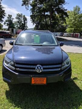 2016 Volkswagen Tiguan for sale at BRATTLEBORO AUTO SALES in Brattleboro VT