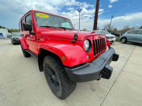 2017 Jeep Wrangler Unlimited for sale at AP Auto Brokers in Longmont CO