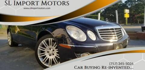 2008 Mercedes-Benz E-Class for sale at SL Import Motors in Newport News VA