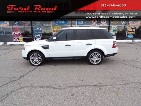 2011 Land Rover Range Rover Sport for sale at Ford Road Motor Sales in Dearborn MI