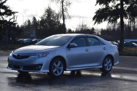 2012 Toyota Camry for sale at Skyline Motors Auto Sales in Tacoma WA