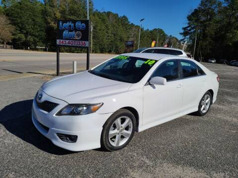 2010 Toyota Camry for sale at Let's Go Auto in Florence SC