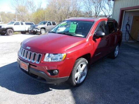 2012 Jeep Compass for sale at Careys Auto Sales in Rutland VT