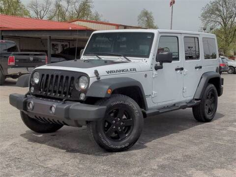 2017 Jeep Wrangler Unlimited for sale at Auto Bankruptcy Loans in Chickasha OK