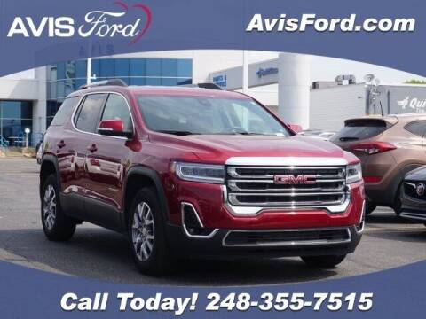 2020 GMC Acadia for sale at Work With Me Dave in Southfield MI