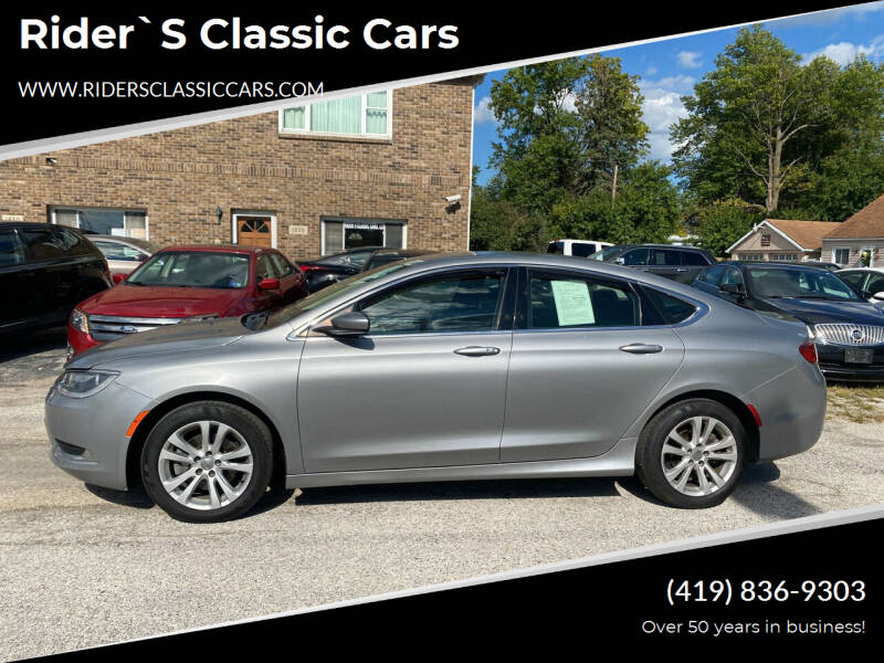 2015 Chrysler 200 for sale at Rider`s Classic Cars in Millbury OH