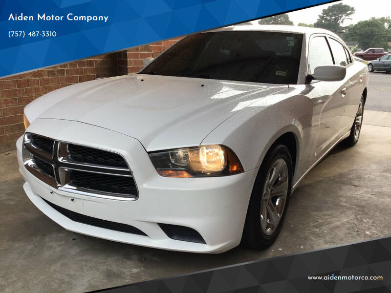 2014 Dodge Charger for sale at Aiden Motor Company in Portsmouth VA