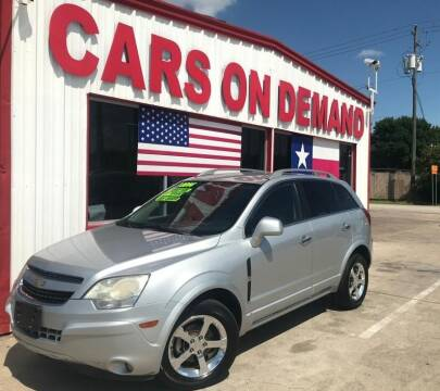 2014 Chevrolet Captiva Sport for sale at Cars On Demand 2 in Pasadena TX