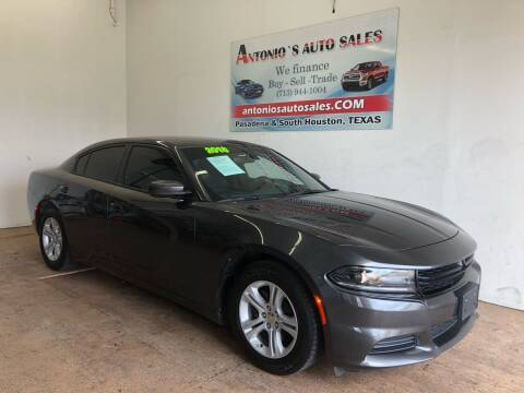 2018 Dodge Charger for sale at Antonio's Auto Sales in South Houston TX