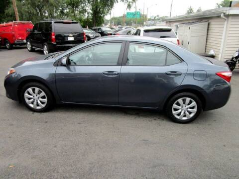 2016 Toyota Corolla for sale at American Auto Group Now in Maple Shade NJ