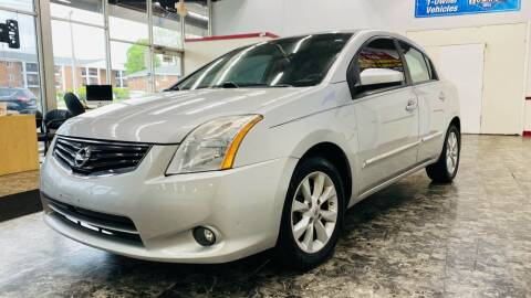 2012 Nissan Sentra for sale at TOP YIN MOTORS in Mount Prospect IL