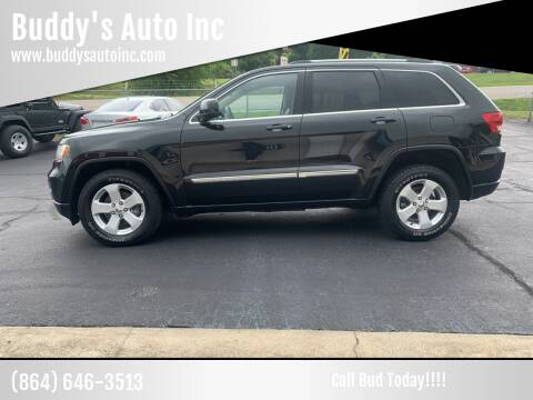 2013 Jeep Grand Cherokee for sale at Buddy's Auto Inc in Pendleton, SC
