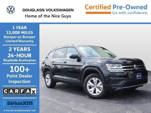 2019 Volkswagen Atlas for sale at Douglass Automotive Group - Douglas Volkswagen in Bryan TX