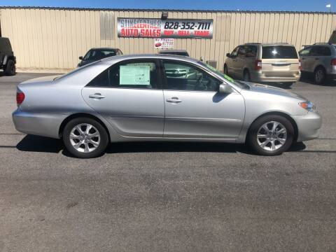 2005 Toyota Camry for sale at Stikeleather Auto Sales in Taylorsville NC