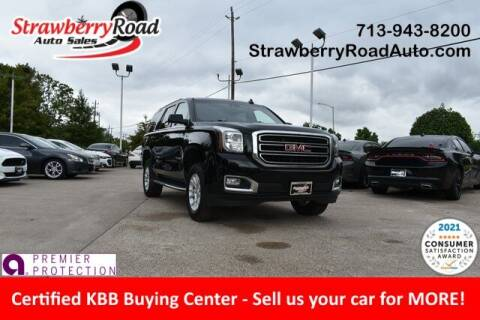 2018 GMC Yukon for sale at Strawberry Road Auto Sales in Pasadena TX