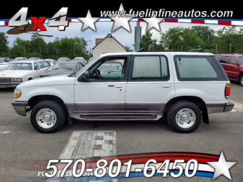 1995 Ford Explorer for sale at FUELIN FINE AUTO SALES INC in Saylorsburg PA