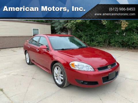 2012 Chevrolet Impala for sale at American Motors, Inc. in Farmington MN