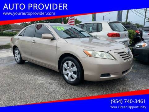 2009 Toyota Camry for sale at AUTO PROVIDER in Fort Lauderdale FL