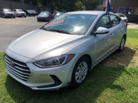 2017 Hyundai Elantra for sale at Car Guys in Lenoir NC