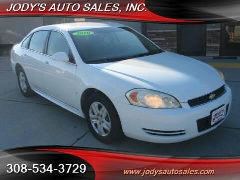 2010 Chevrolet Impala for sale at Jody's Auto Sales in North Platte NE