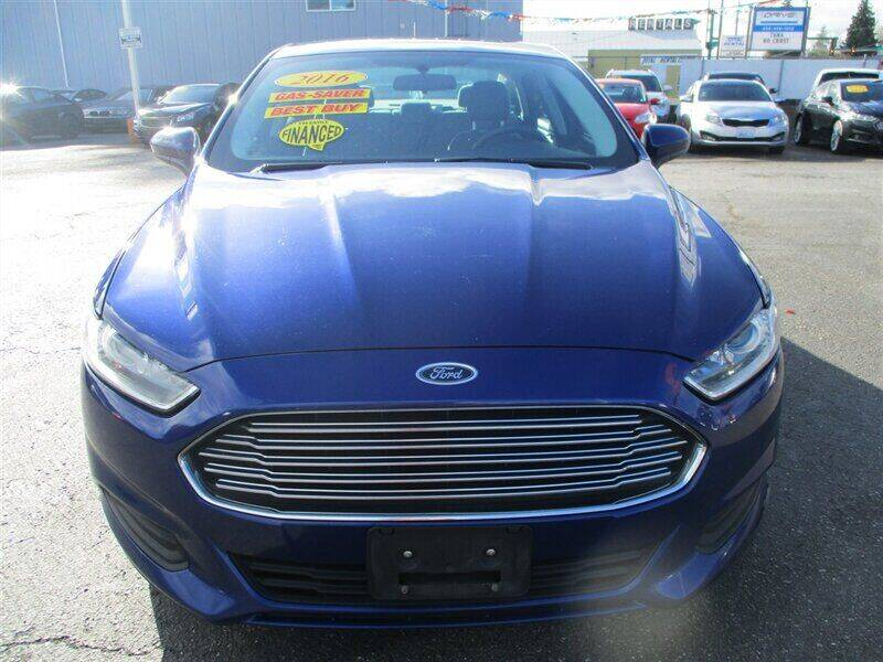 2016 Ford Fusion Hybrid for sale at GMA Of Everett in Everett WA