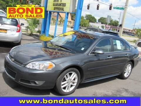 2010 Chevrolet Impala for sale at Bond Auto Sales in St Petersburg FL