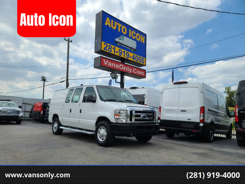 2012 Ford E-Series Cargo for sale at Auto Icon in Houston TX