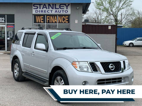 2012 Nissan Pathfinder for sale at Stanley Direct Auto in Mesquite TX