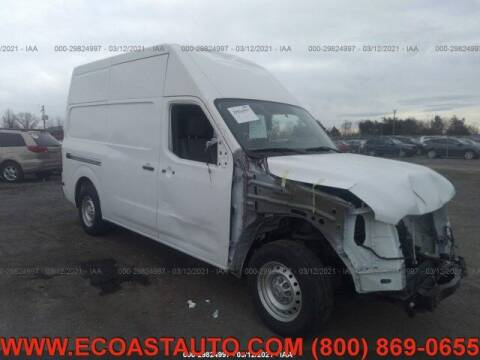 2017 Nissan NV Cargo for sale at East Coast Auto Source Inc. in Bedford VA