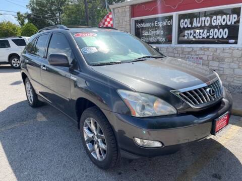 2009 Lexus RX 350 for sale at GOL Auto Group in Austin TX