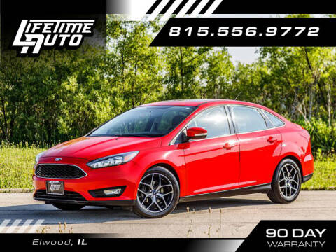 2017 Ford Focus for sale at Lifetime Auto in Elwood IL