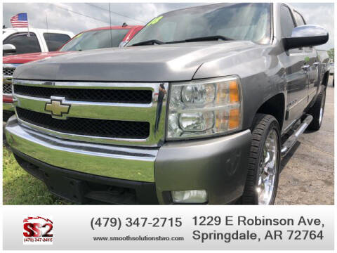 2008 Chevrolet Silverado 1500 for sale at Smooth Solutions 2 LLC in Springdale AR